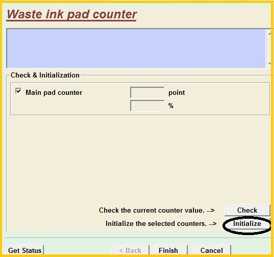 reset printer epson l360