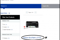 cara instal epson l3110 di windows 10