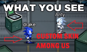 download custom skin among us
