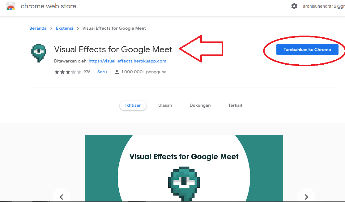 download visual effects for google chrome