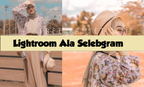 Download Preset Lightroom Selebgram Gratis