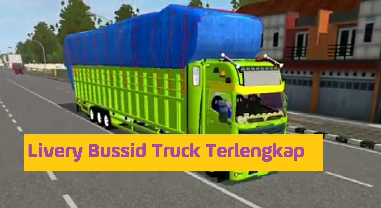 Livery Bussid Truck