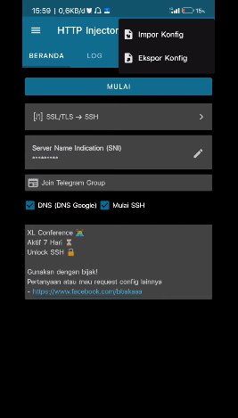 config conference xl http injector