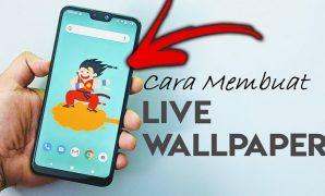 cara membua video wallpaper di android
